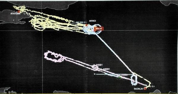 Darbe gecesi F-16'lar 20 kez yakıt nakli yapmış