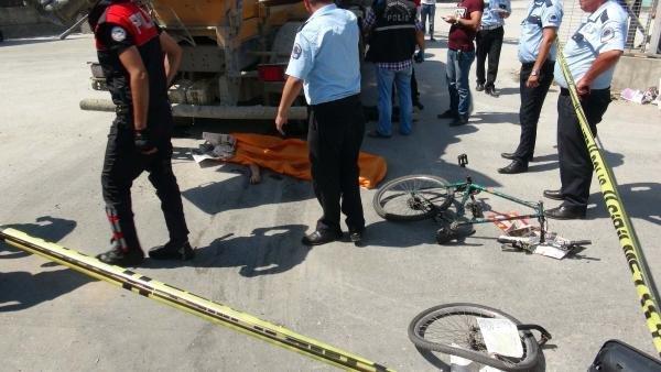 İstanbul'da beton mikseri dehşet saçtı