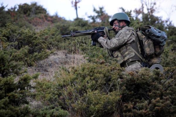 Boralar timi PKK'lı avında