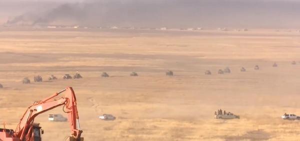 Irak'ta IŞİD'e operasyon başladı