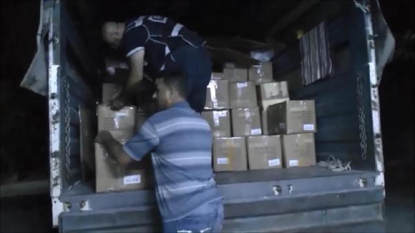 HDP'nin izinsiz topladığı malzemelere el konuldu