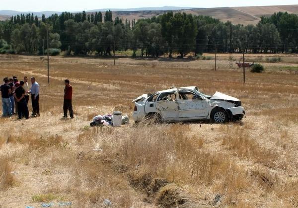 Yozgat'ta feci kaza: 1 ölü, 7 yaralı