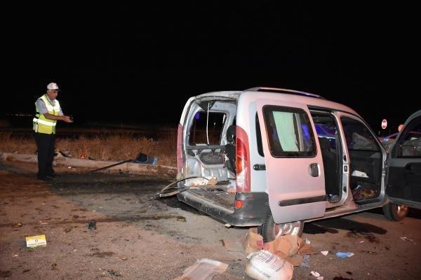 Aksaray'da feci kaza: 1 ölü, 7 yaralı