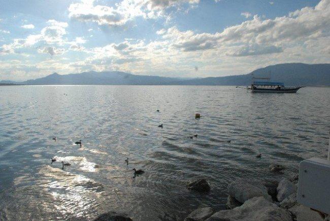 Burdur Gölü, 54 santimetre çekildi !