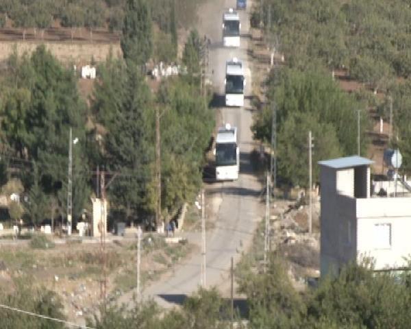 Suriye'ye doğru yola çıktılar