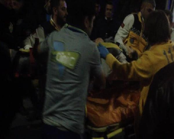 Atatürk Havalimanı'na kaza şoku: 1 ağır yaralı