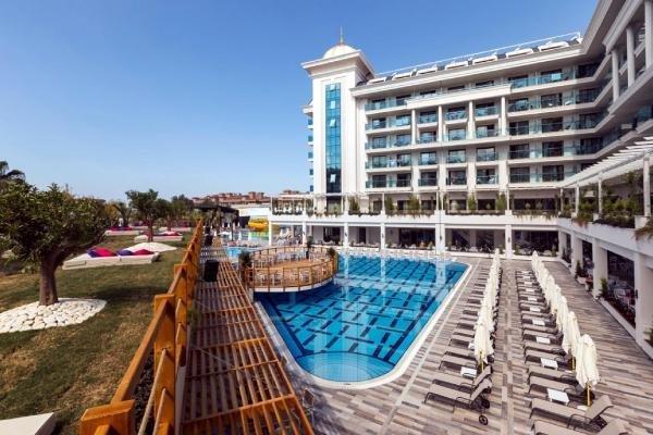 Antalya'da 5 yıldızlı otele haciz
