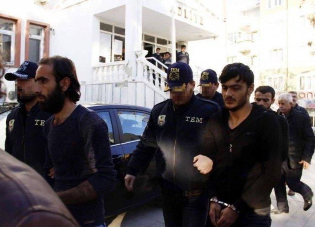 Batı'da eylem hazırlığı yapan teröristler tutuklandı