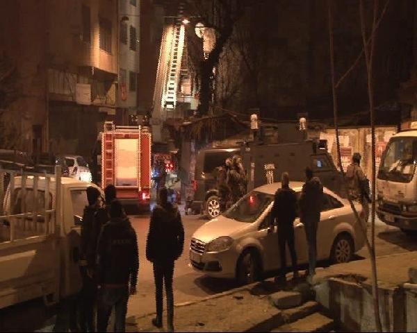 İstanbul'da itfaiye destekli polis operasyonu