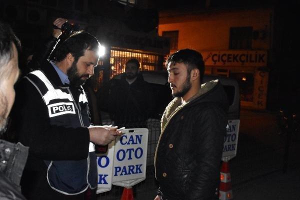 Bin polisle ''mülteci'' operasyonu: 260 gözaltı