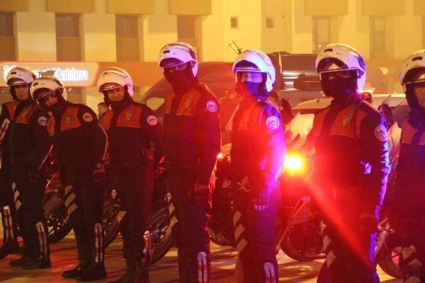 1150 polis 'acil' koduyla çağrılınca bir kent ayaklandı