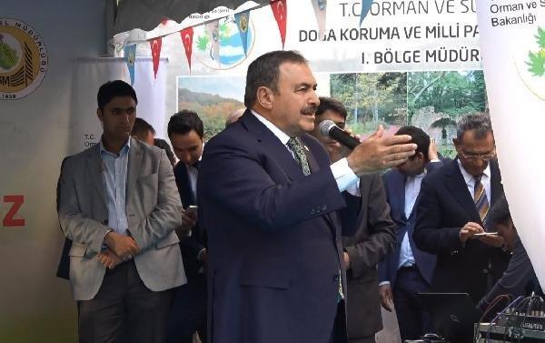 Bakan Eroğlu'nun programında ortalık karıştı