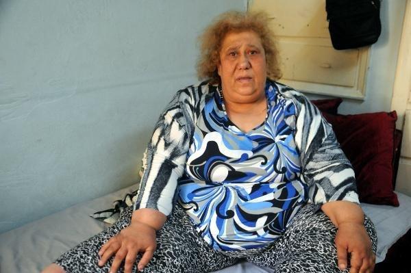 185 kiloluk kadının yardım çığlığı