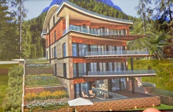 Kenan Evren'in eski villası yeniden inşa ediliyor