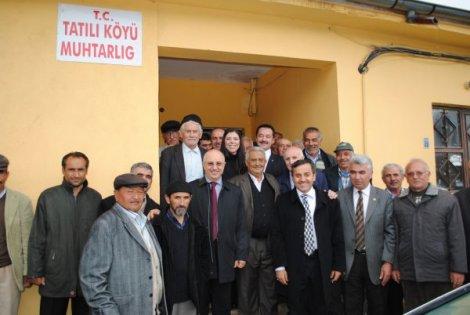 AK PARTİLİ VEKİLLER SARIOĞLAN'DAN MEMNUN AYRILDI