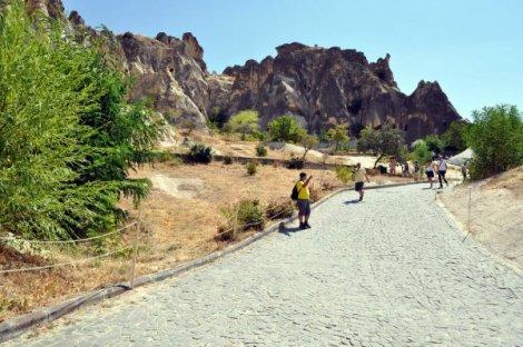 KAPADOKYA'NIN GÖZBEBEĞİ GÖREME AÇIK HAVA  MÜZESİ BOŞ KALDI
