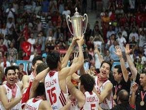 Türkiye Genç Erkekler Avrupa basketbol şampiyonu oldu