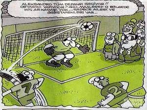 Futbol karikatürleri