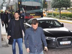 Galatasaray cenaze için Kayseri'ye gitti