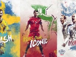 EURO 2016 takım posterleri ! Türkiye'den hangi yıldız var?