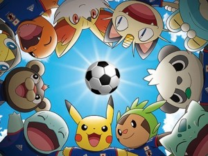 Pokemon çılgınlığı futbol dünyasında !