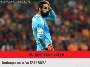 Zorya-Fenerbahçe maçının ardından capsler !