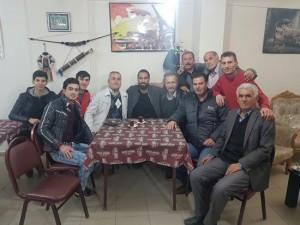 Erkan Zengin kahvehanede !
