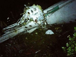 Brezilyalı futbolcuları taşıyan uçak düştü ! Ölü sayısı açıklandı...