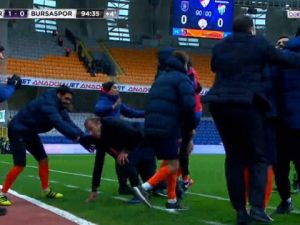 Abdullah Avcı'yı coşturan gol !