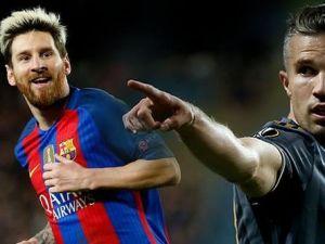 Messi ve Van Persie aynı listede