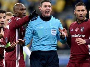 Beşiktaş'ı yakan hakeme büyük şok