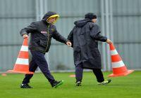Bursaspor Yağmur Altında Çalıştı