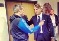 Yanal'dan Mancini'ye teşekkür ziyareti !