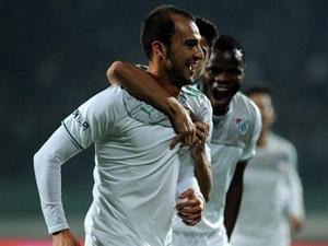 Bursaspor evinde Galatasaray'a yenilmiyor