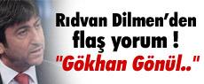Dilmen'den penaltı yorumu: ''Gökhan Gönül...''