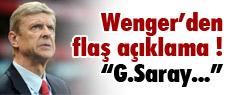 Wenger'den flaş açıklama !