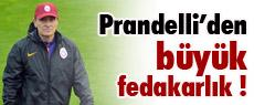 Prandelli'den büyük fedakarlık
