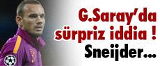 Sneijder için sürpriz iddia !
