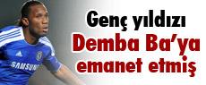 Genç yıldızı Demba Ba'ya emanet etmiş