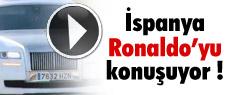 İspanya, Ronaldo'nun arabasını konuşuyor
