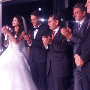 Galatasaraylılar düğünde buluştular