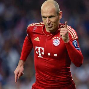 Robben için büyük kapışma
