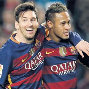 'Uzaylı' Messi rekora doymuyor !