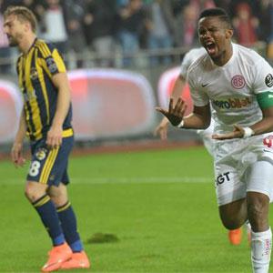 Fenerbahçe'ye Antalya'da ağır darbe !