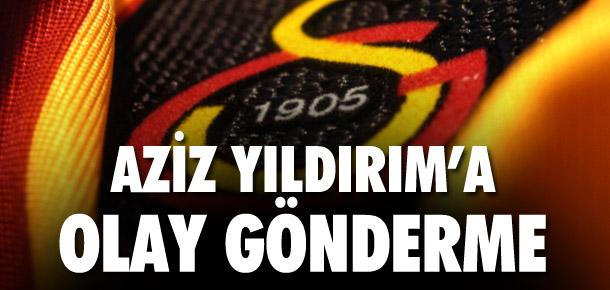 Galatasaray'dan Aziz Yıldırım'a ilginç yanıt !