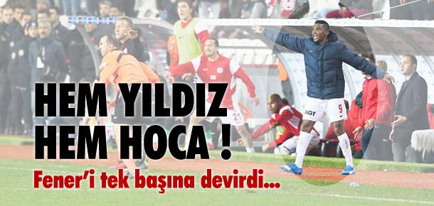 Eto'o Fenerbahçe'yi tek başına devirdi