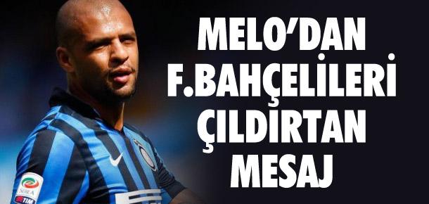 Melo'dan Fenerbahçelileri çıldırtan mesaj