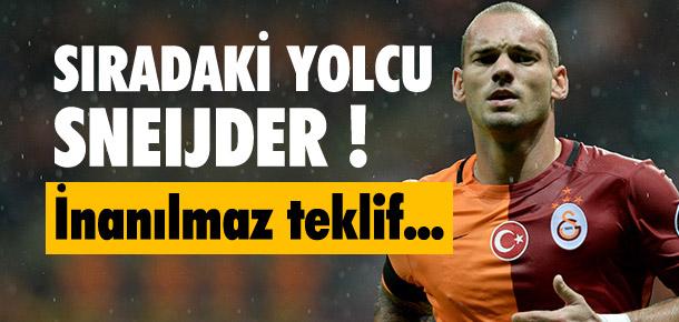 Sneijder'e 16 milyon Euro'luk teklif