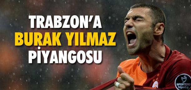 Trabzonspor'a Burak Yılmaz piyangosu