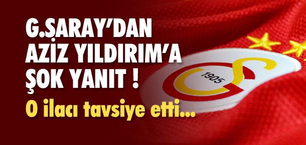Galatasaray'dan Aziz Yıldırım'a şike cevabı